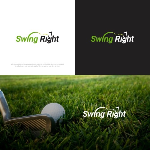 Swing to the Right hole.