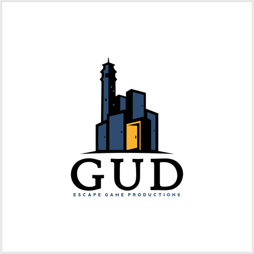 Logo concept for GUD Escape Game Productions