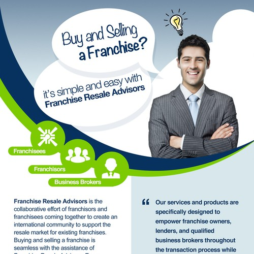 Create a eye catching flyer for new consulting company