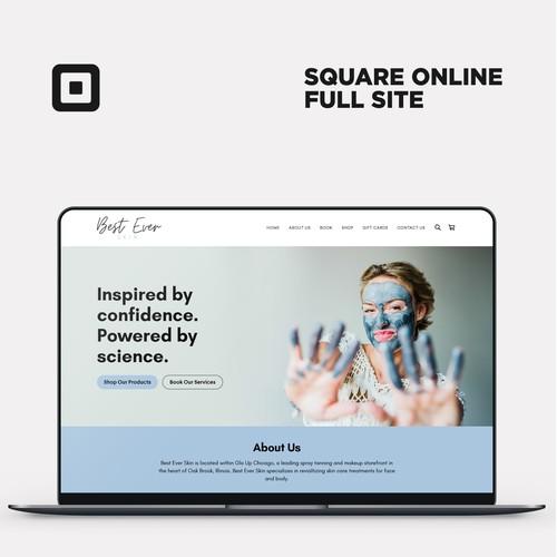 Square Online Full Site For Best Ever Skin