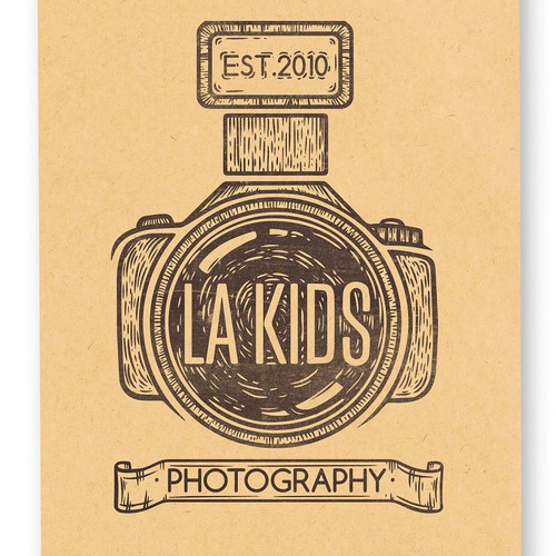Create a fresh new LOGO for LA Kids Photography