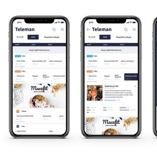Teleman mobile webstie