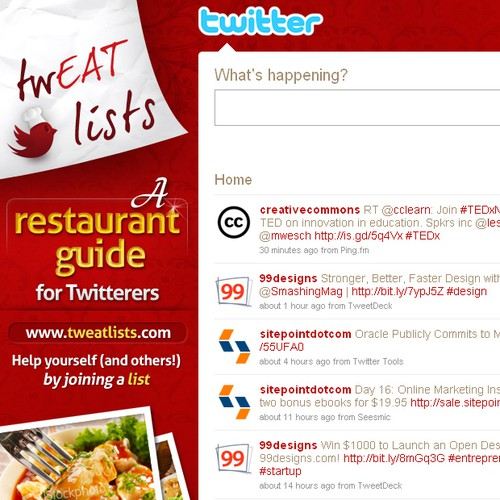Tweat lists