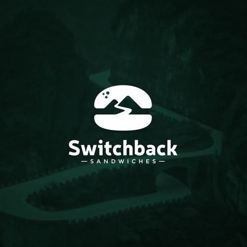 Switchback Sandwiches Logo Design
