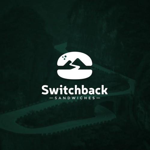 Switchback Sandwiches Logo Design