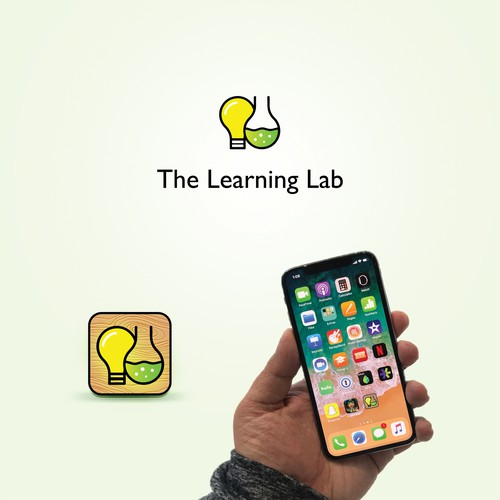 Learning,lab,light,bulb,icon,app,smart,colorful