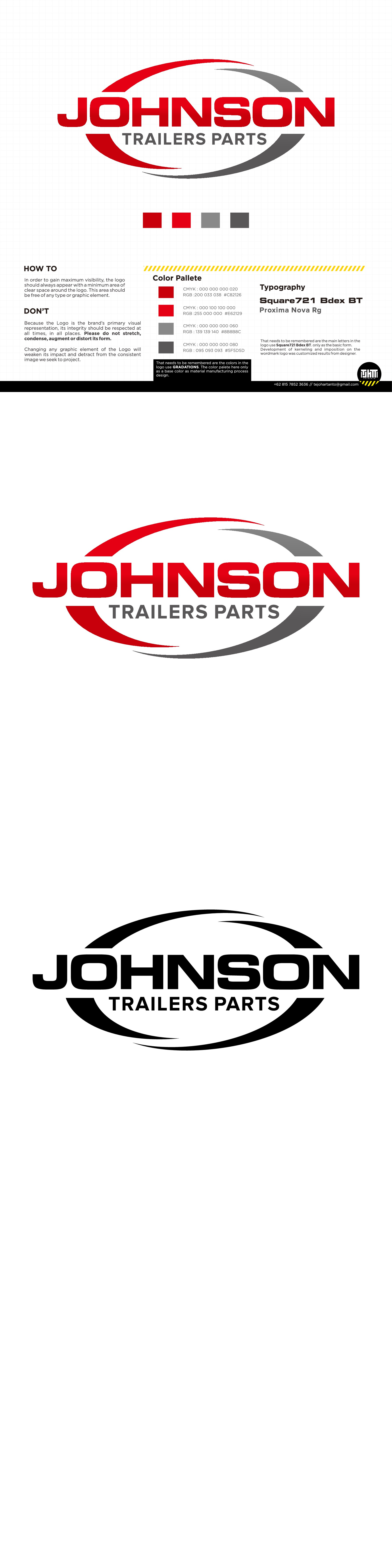 Create a logo, design or Mascot that can capture a trailer parts business