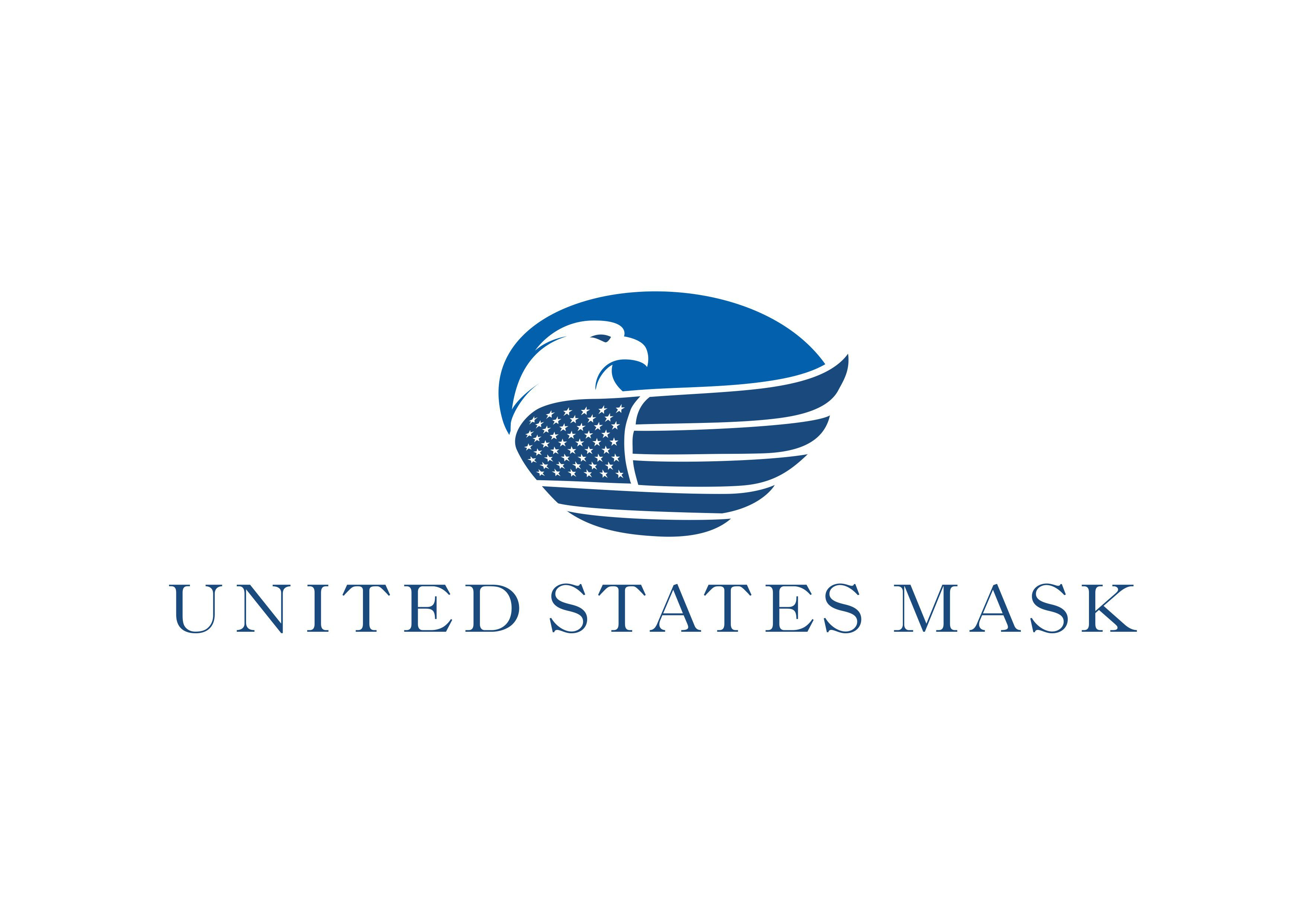 Logo For 100% U.S Made Medical Mask Company (N95)