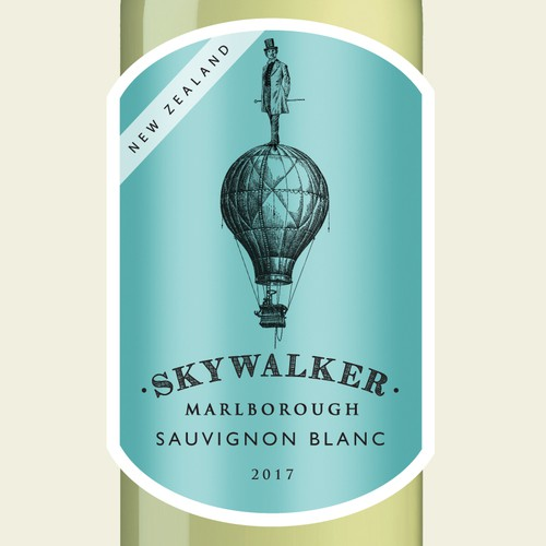 Out of the box stand out wine label design