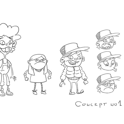 characters concep