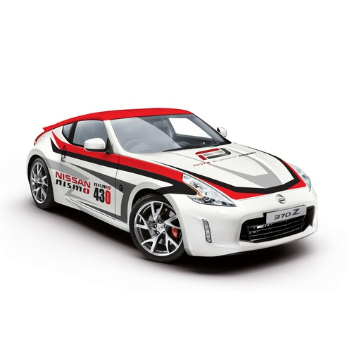 Nissan race Car Wrap