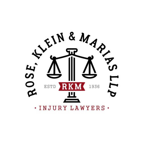 Logo Concept for RKM Law Firm