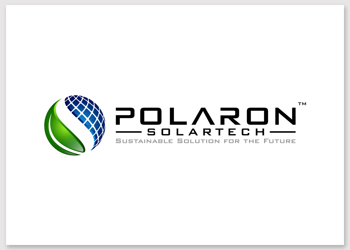 Design a clean & modern logo for a solar company's Global Expansion