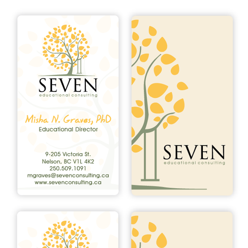 Help Seven Educational Consulting with a new stationery
