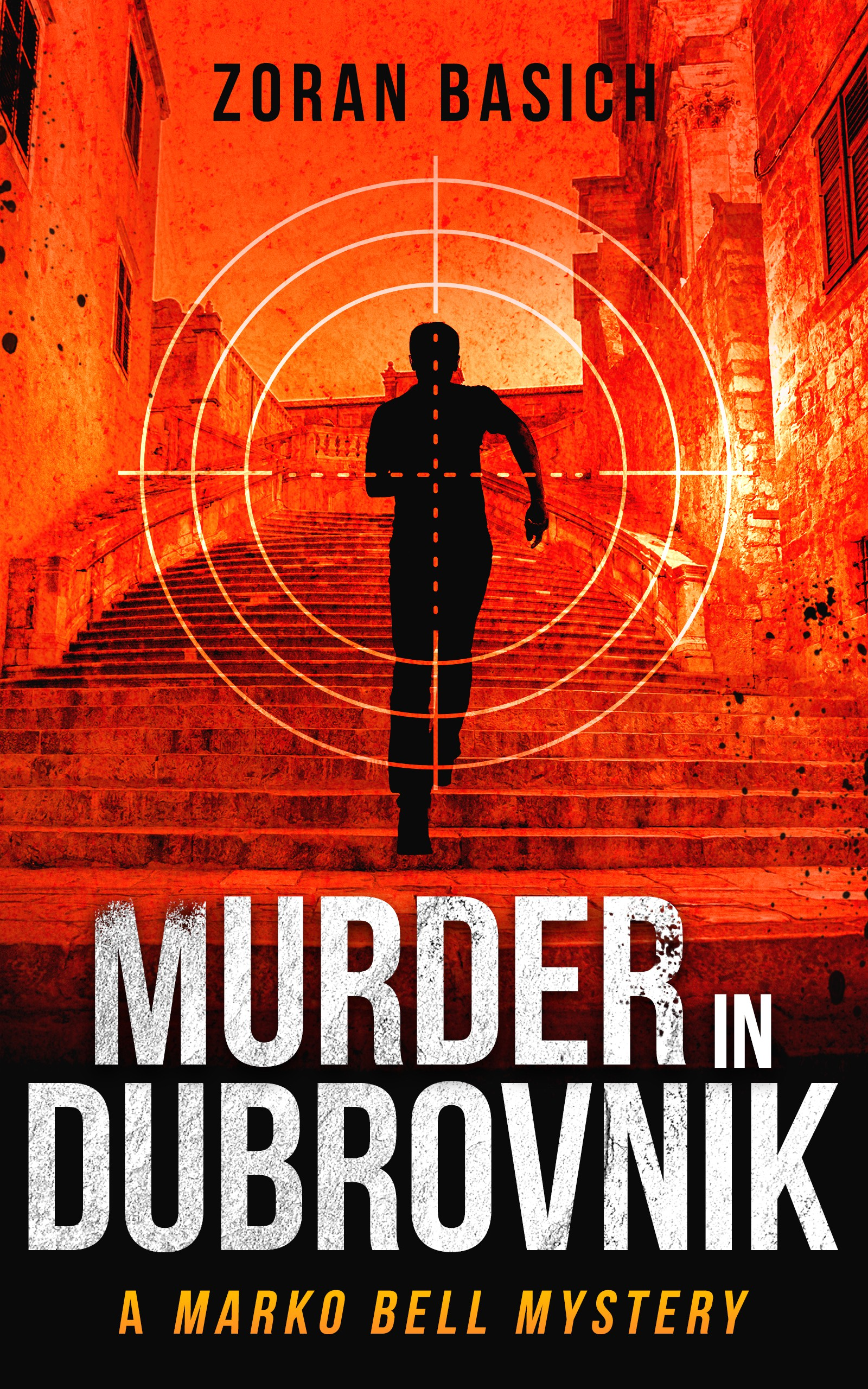 "Design a killer, memorable cover for the crime novel ""Murder in Dubrovnik"""