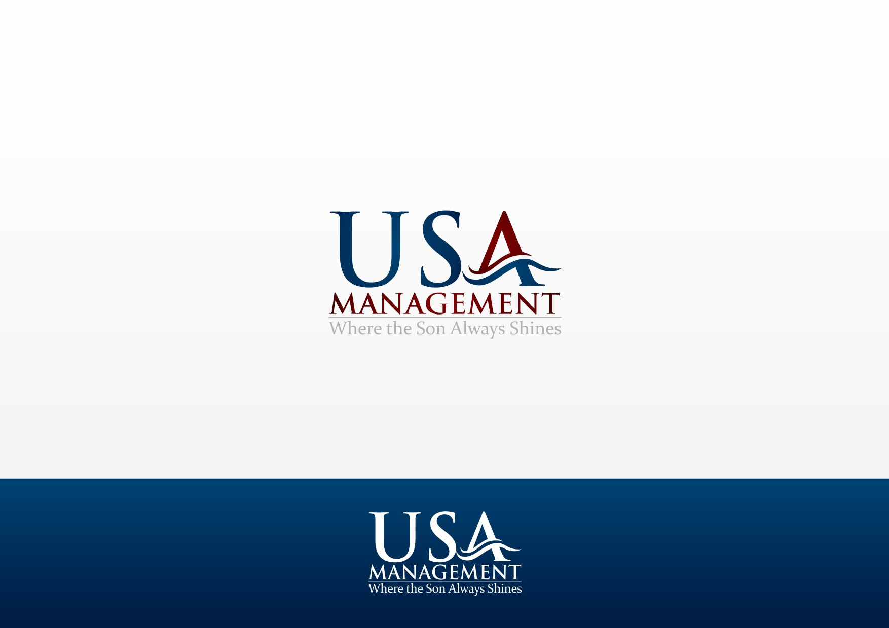 Help USA Management with a new logo