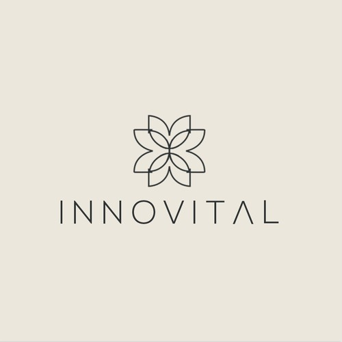 Elegant logo for medical and cosmetic company