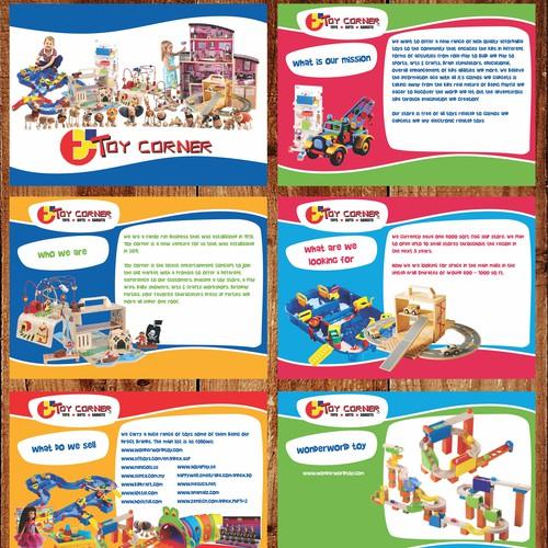 ppt layout design for toy corner