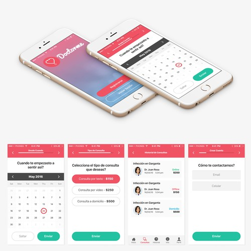App design for DoctorMe