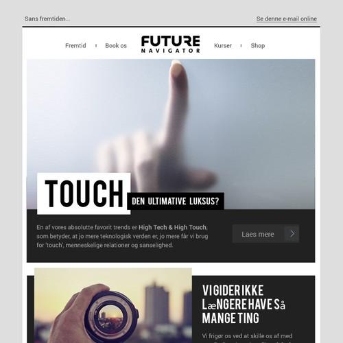 Future Navigator Email Design