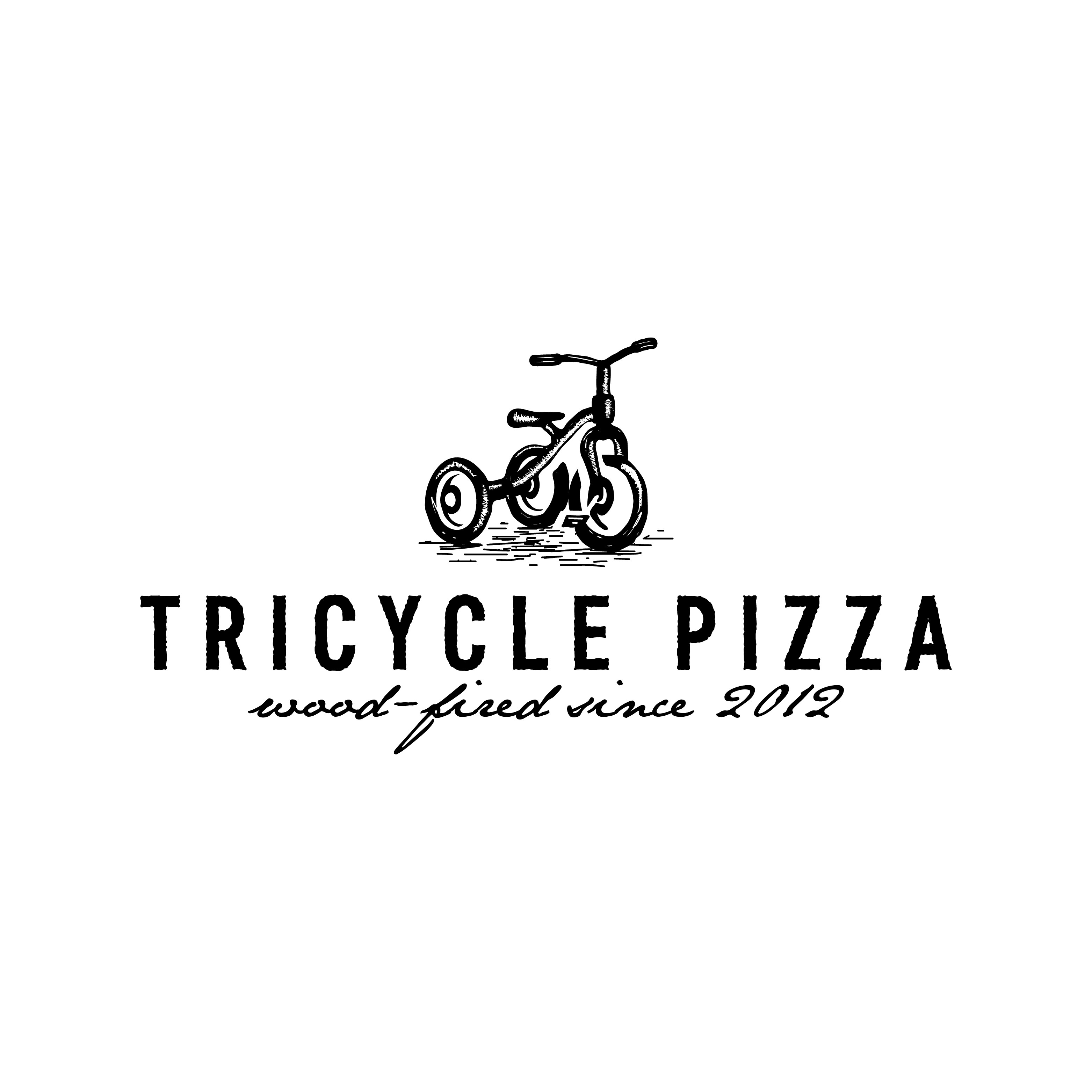 Design a simple and timeless restaurant logo for a Wood-Fired Pizzeria!