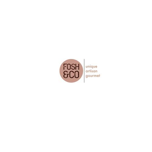 Logo for an artisan gourmet food company