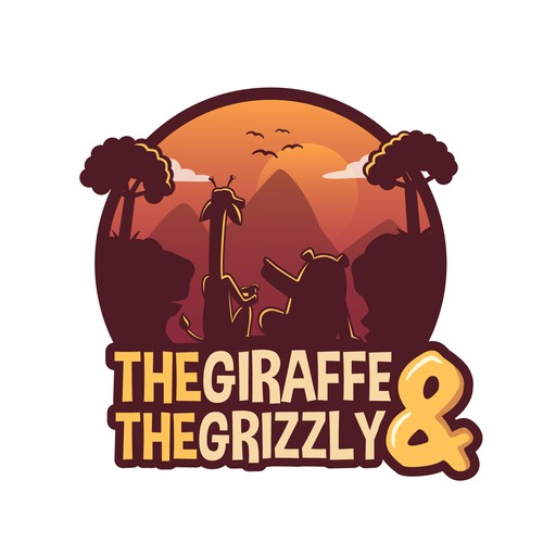 The Giraffe and the Grizzly logo
