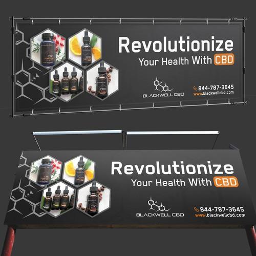 Design a fresh new Billboard for Hemp CBD Company