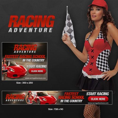 New banner ads needed for RacingAdventure.com!