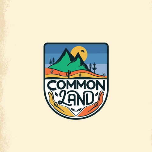 Logo for a podcast that explores how and why we protect land
