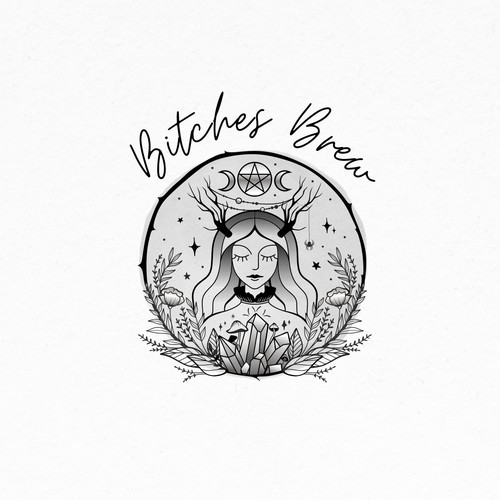 we need an amazing logo to expand our online presence to witchy women