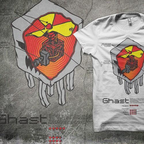 Minecraft T-Shirt Design!
