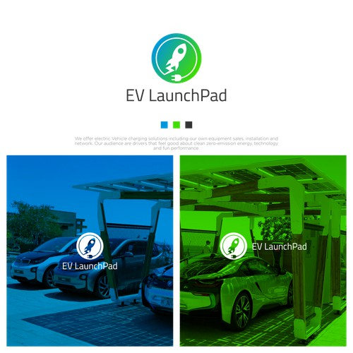 Logo Concept for EV LaunchPad