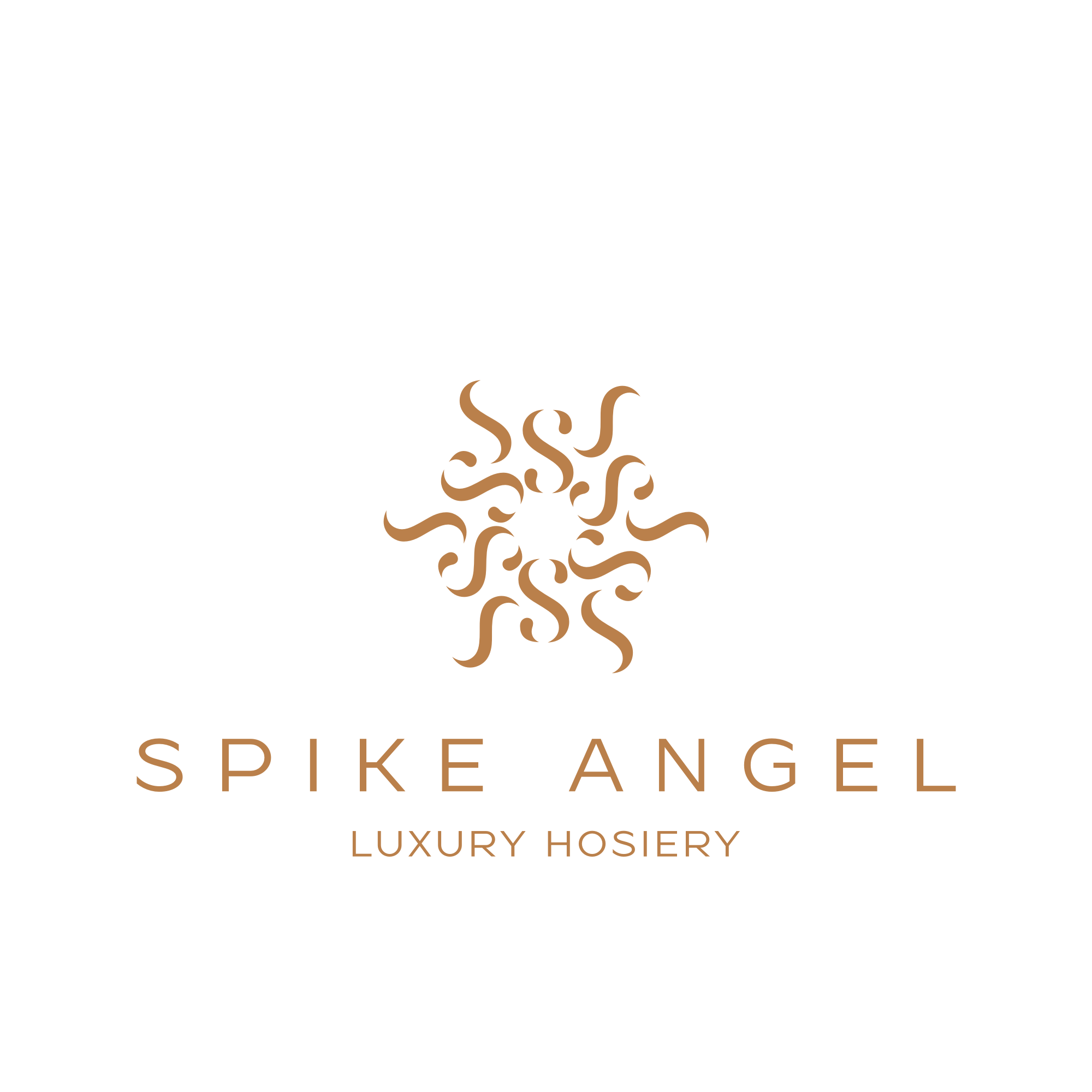 Create a sexy luxury hosiery company logo for Spike Angel