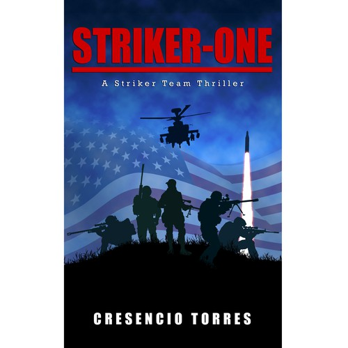 Cover for a Military Action-Thriller novel