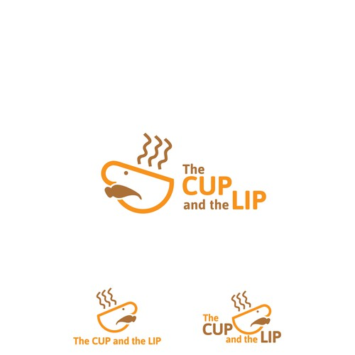 Logo concept for The cup and the lip