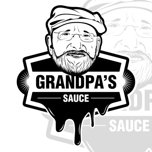 Simple Hipster - Steak Sauce - Logo needed.