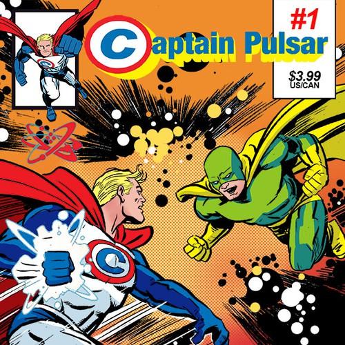 Captain Pulsar First Edition Comic Concept