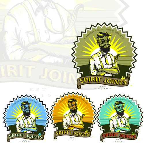 logo for spirit joints