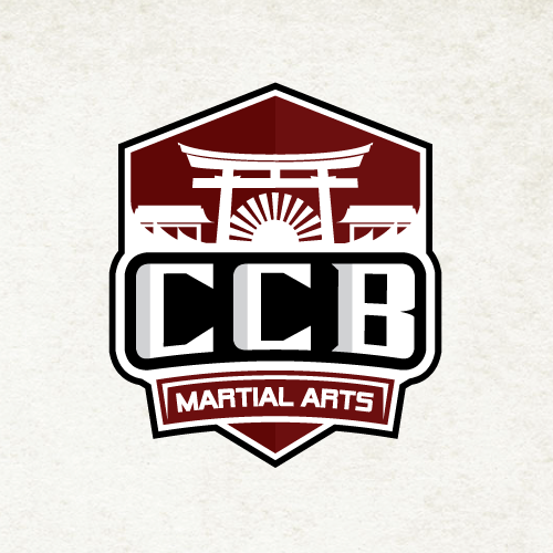 Emblem logo for a Japanese-style martial arts