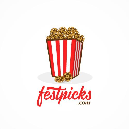 Logo & website design for an indie film enthusiast website