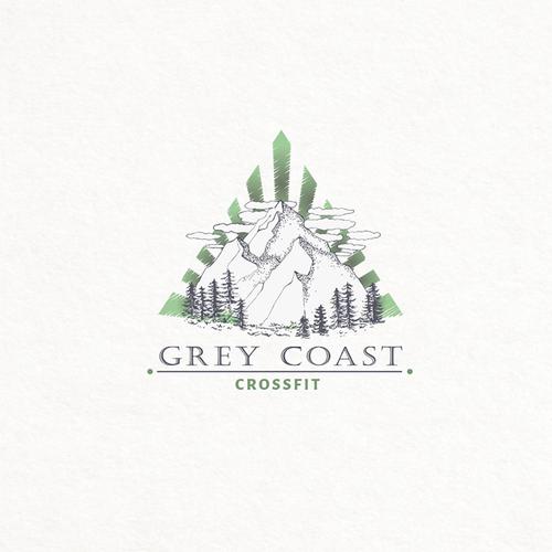 Crey Coast logo design