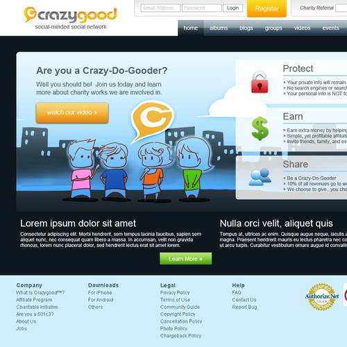 a Crazygood Homepage