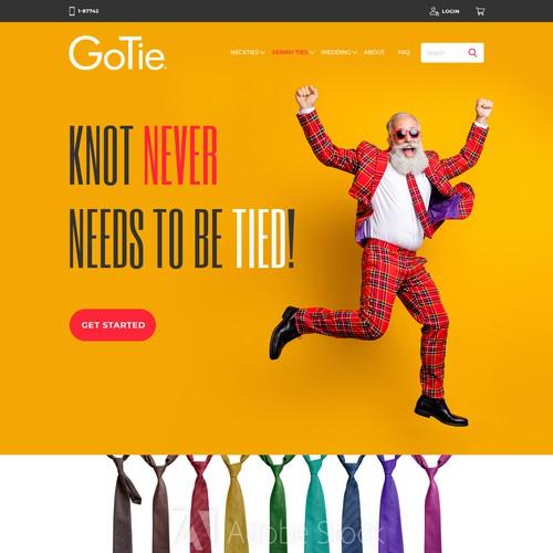 Website Design GoTie