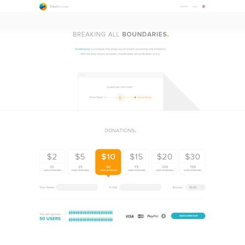 Innovative Browser Website