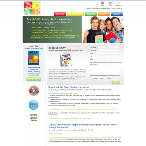 Clean, Vibrant WordPress Template for Educational Business