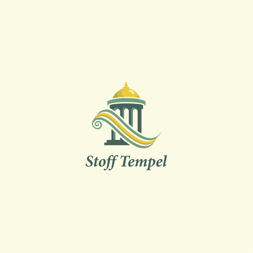 New logo, very clean, to grasp the thing in a second! We sell excellent fabrics!