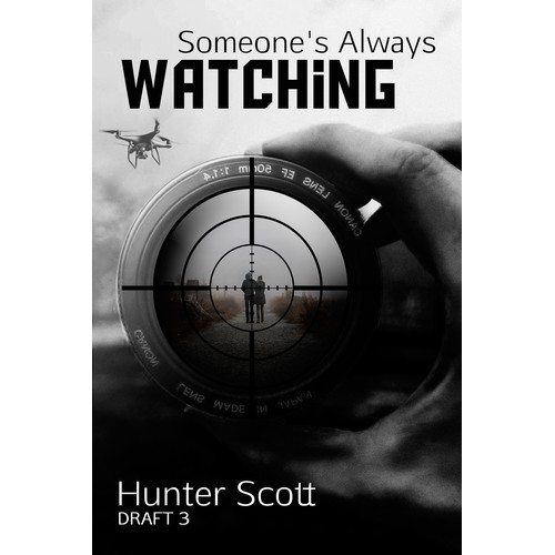 Book Cover Design- Hunter scott