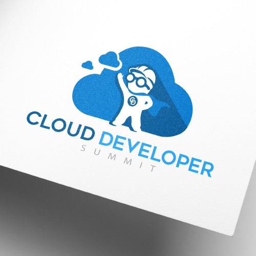 Logo for cloud developer