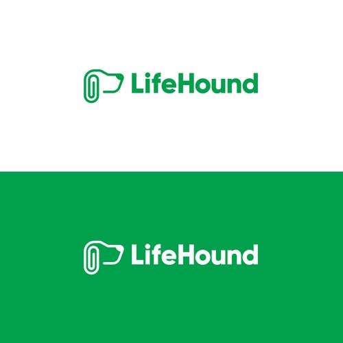 LifeHound Logo Design